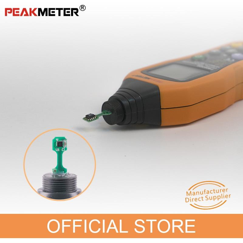 Hivatalos PEAKMETER PM6508 digitális - Mérőműszerek - Fénykép 2