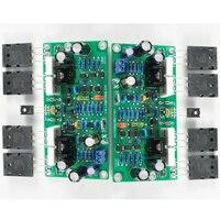 L20 SE Placa de amplificador de Audio A1943 C5200 estéreo Dual canales 350W Tarjeta de amplificador 4ohm Kits DIY 2 uds