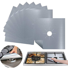 Pad Protector Cover-Liner Cooker Gas-Stove Clean-Mat Kitchen-Accessories 4pcs/Set