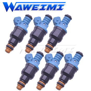 WAWEIMI 6 Pieces Fuel Injector OE 0280150957 For DODGE CHRYSLER VOYAGER 3.3 3.8 L6 V6