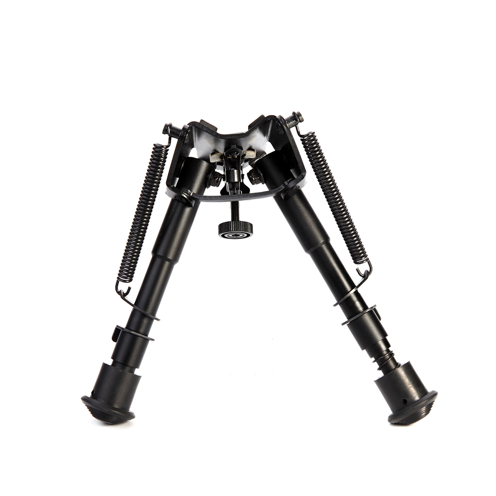 Air Rifle Bipod 6-9 Inch Telescopic Tripod Telescopic Pendulum Support Frame 20mm Mount Refitting Accessories Outdoor Foothold