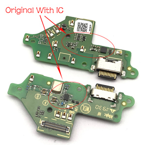 Image 3 - Original New USB Charging Port Connector Board With Mic Microphone For Moto One Vision Fusion Action Marco Hyper Power G30