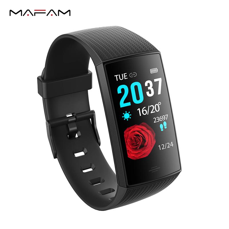 MAFAM CY11 Smart Watch Men Women Blood Pressure Heart Rate Monitor Pedometer IP67 Waterproof Sport Smartwatch For Android IOS