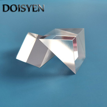 1pcs 25*25*25mm Prism Glass Right Angle Prism N-BK7 (K9) Optics Components Glass for Precision Optical equipments Instruments 1 inch corner cube prism no coating height 19mm high precision bk7 optical glass trihedral retroreflector