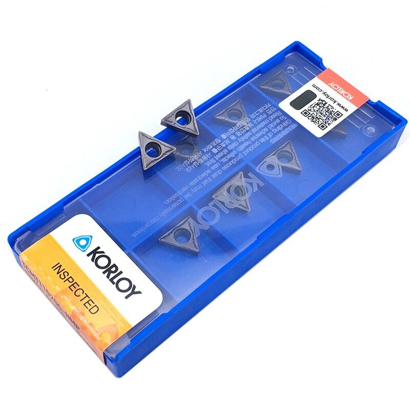 Image 2 - 10 pçs tcmt110204 hmp pc9030 inserções originais cnc ferramenta tcmt alta qualidade interna torneamento ferramenta carboneto de inserção para aço inoxidávelFerr. torneam.   -