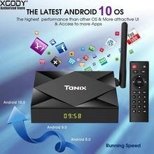 TX6s H616 Wifi Bluetooth TV Box 8k HD Quad Core 64-bit Andro