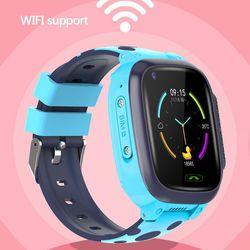 Kinderen s Smart Horloge HD Video Call 4G Volledige Netcom WiFi Chat AI Voice GPS Positionering Waterdicht Horloge Voor kids