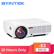 179$ Clearance Sale BYINTEK Top Brand BT96 USB 1280x800 WXGA 200inch HD 1080P Digital Home Theater LED LCD Projector