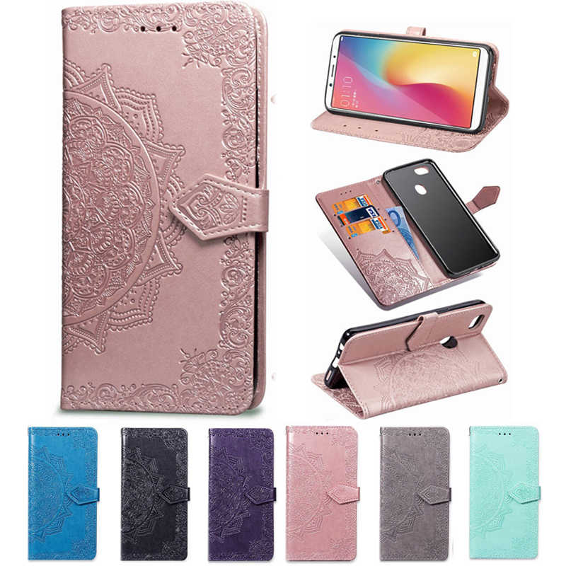 Wallet 3D Flower Case for Wiko Y80 Y60 Lenny 2 4 Plus 5 3 Max Jerry 2 3 4 MAX Flip Phone Capa Smart Back Cover KICKSTAND