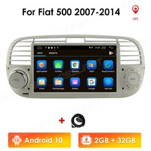 Autoradio Android 10, écran tactile HD 7