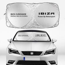Auto Windschutzscheibe Schutzscheibe Sonnenschutz Abdeckung Sonne Isolierung UV Schutz Sonnenschutz Visiere Block für Seat Ibiza Auto Zubehör