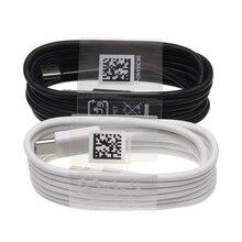 نوع C كابل لسامسونج S8 خط البيانات الموسيقى الرؤية الدخن USB Type C فلاش تهمة سريع تهمة خط 1.2 متر