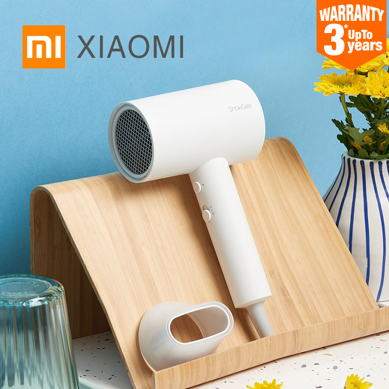 XIAOMI Hair-Dryer Negative-Ion Professinal MIJIA Portable Anion A1-W 1800W Home SHOWSEE title=