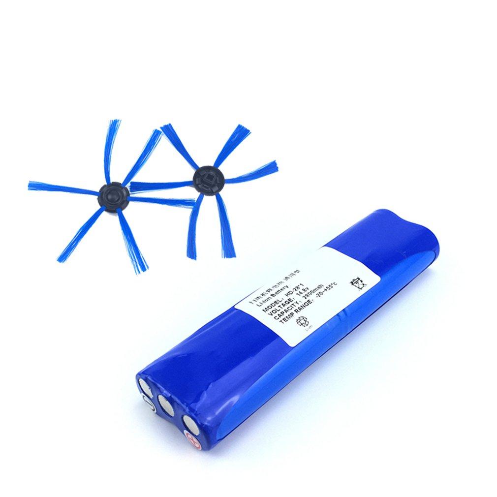 14.8V 2800mAh 18650 Li-ion Battery Side Brush Kit For Philips Robotics FC8820/FC8810 Vacuum Cleaner Accessories Parts