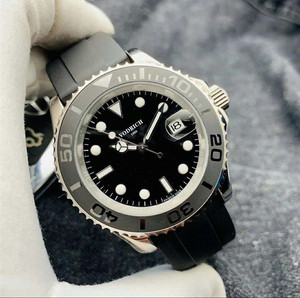 Men's high-end atmospheric swimming sports hand automatic mechanical watch.  aaa quality watch.