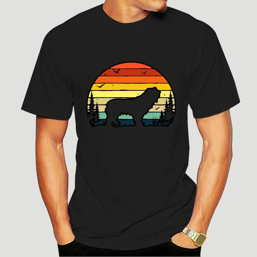 Camiseta masculina polonês lowland sheepdog vintage retro do (1) tshirts femininas t-shirt-4579A
