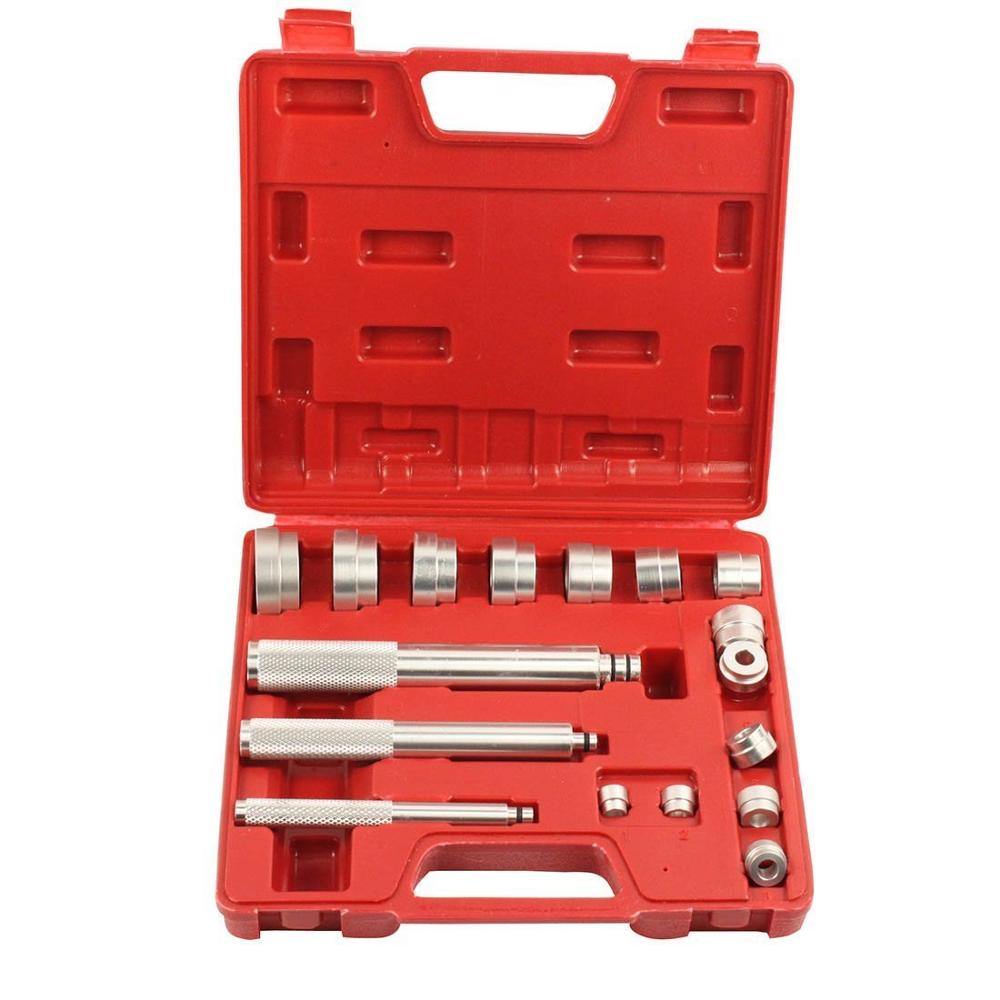 17-piece Aluminum Alloy Bearing Removal Install Tool Auto Maintenance Repair Special Tools Wheel Bearing Removal Tool