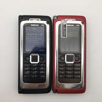Nokia-teléfono inteligente E90 reacondicionado, Original, 3G, GPS, Wifi, 3,2 MP, Bluetooth, rojo y regalo