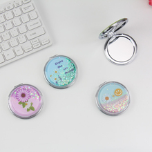 NEW ortable Cosmetic Mirror Essential Unbreakable Makeup Mirror Shatter-Proof Portable Pocket Makeup Mirror Travel Accessories
