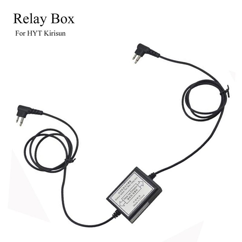 RPT-2K Two-Way Relay Walkie Talkie Repeater Box M Head Baofeng UV-5R Retevis H777 Radio