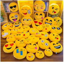 Peluche jouet créatif expression pack oreiller smiley chaud mains coussin(China)