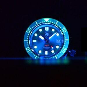 Proxima relógio de mergulho aaa nh35 men safira automática relógio de pulso luminoso 300m mecânica cerâmica bezel 316l relógios aço inoxidável