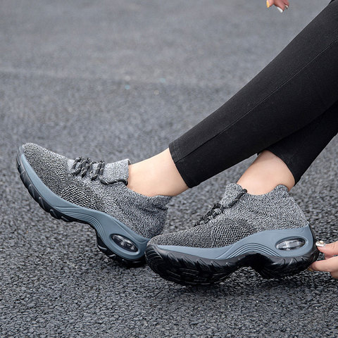 MWY Wedges Shoes For Women Yellow Sneakers Comfort Ladies Trainers Women Casual Shoes Platform Shoes Plus Size Chaussures Femme Islamabad
