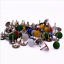 Color pushpins, push nails, round nails, tacks, maps and maps, metal nails, about 70 pieces great maps