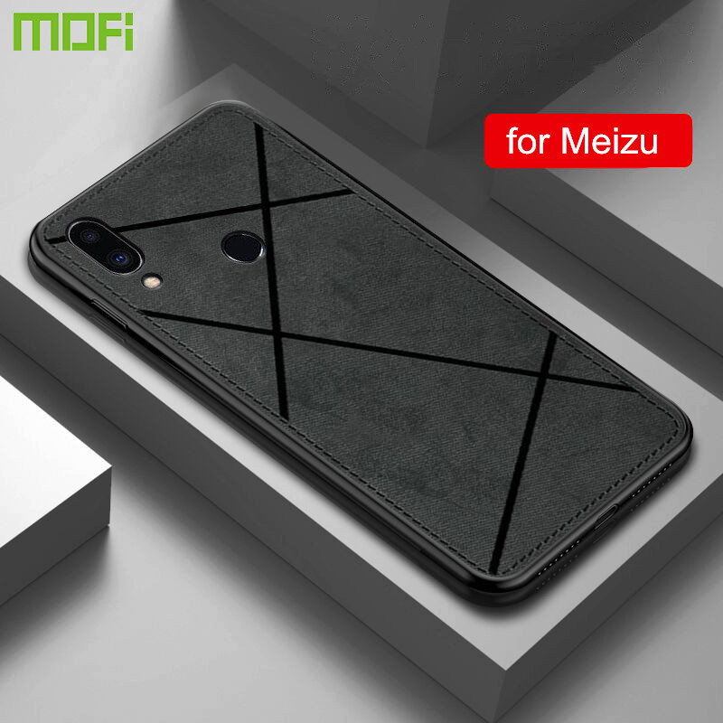 For Meizu Note 9 Case Cover Meilan X8 M5 Note 8 5 Shockproof Fabric TPU Housing M9 M8 Note 9 Anti-Knock Full Protect Cases