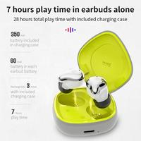 Bluetooth 5.0 Earphone Earbuds Intelligent Touch Control Headset Handsfree True Wireless Earbuds with Mic|  -