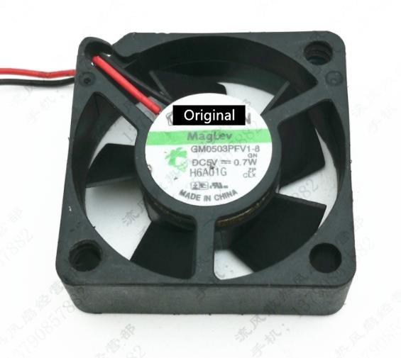 Оригинальный 100% рабочая ForSunon gm0503pfv1-8 5V 0,7 W 3 см 30 мм 3010 Ультра тихий вентилятор охлаждения