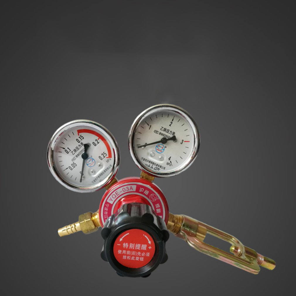 High Quality Acetylene Meter Acetylene Pressure Reducing Valve Acetylene Pressure Reducing Valve Acetylene Meter Decompression T