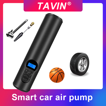Car air pump 12V 150PSI Rechargeable Tire Inflator Cordless Portable Compressor Digital Car Tyre Pump Car Bicycle Tires Balls 120w rechargeable air compressor wireless inflatable pump portable air pump car tire inflator digital for car bicycle balls