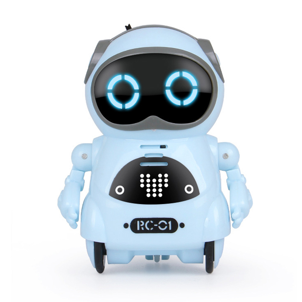 Educational Record Mini Toy Interactive Dialogue Singing Dancing Telling Story Kids Gift Boys Girls Intelligent Pocket Robot