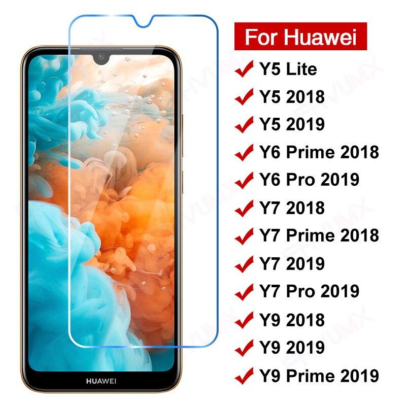 Защитное стекло 11D для Huawei Y5 Y6 Y7 Y9 Prime 2018, закаленное стекло Y5 Lite Y 5 6 7 9 Pro 2019, защитная пленка для экрана