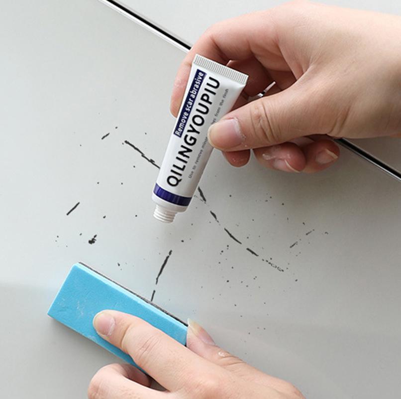 Car Scratch Remover Kit Car Paint Scratch Repair Sponge Car Body Wax Paint Paste Set Scratch Paint Care Auto Polishing Grinding