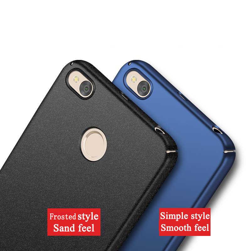 Do obudowy Xiaomi Redmi 4x MSVII Xiaomi 4x Pro Slim matowa tylna pokrywa Xiaomi Redmi 4x twarda obudowa do obudowy Xiaomi Redmi 4 X