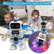 Toys Robot Music-Flash Dance Electric Smart-Space Dazzling Children's New-Hot