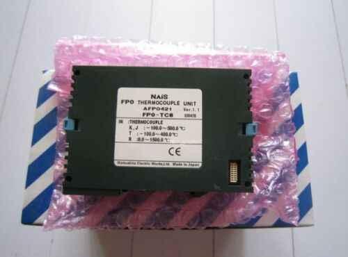 FP0-TC8 (AFP0421) 1PCS Panasonic PLC Thermocouple Unit # Exp