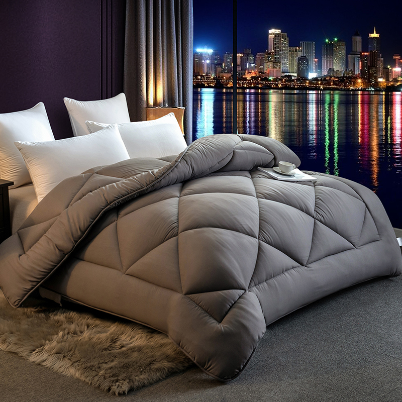 High Quality Comforter Filler King Queen Size Blanket Duvet Patchwork Style Luxury Warm And Thicken 4 Seasons Quilt Bedding