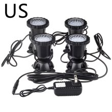 Waterproof LED Underwater Lights Lamp Underwater Spot Light Swimming Pool Fountains Pond Water Garden Aquarium Light 12v led underwater light waterproof rgb underwater lamp swiming pool garden fountains pond water fish tank aquarium spot lights