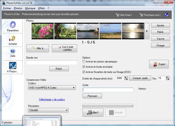 软件-PhotoToFilm照片转特效电影工具