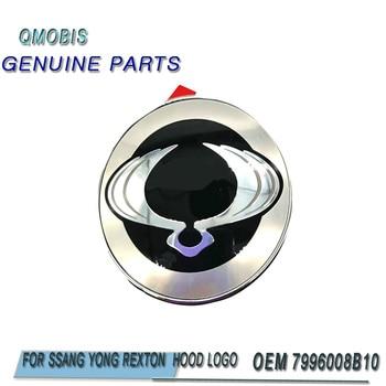 for Bonnet Wing Emblem Badge for Ssangyong 2006-2008 Rexton Oem Parts 7996008B10 79960 08B10 oem 1621533028 for ssangyong rexton stavic rodius crankshaft position sensor 1621533028