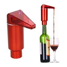 Горячий Портативный дизайн одной кнопки Электрический красное вино Быстрый графин аэратор Pourer автоматический дозатор вина инструменты аксессуар