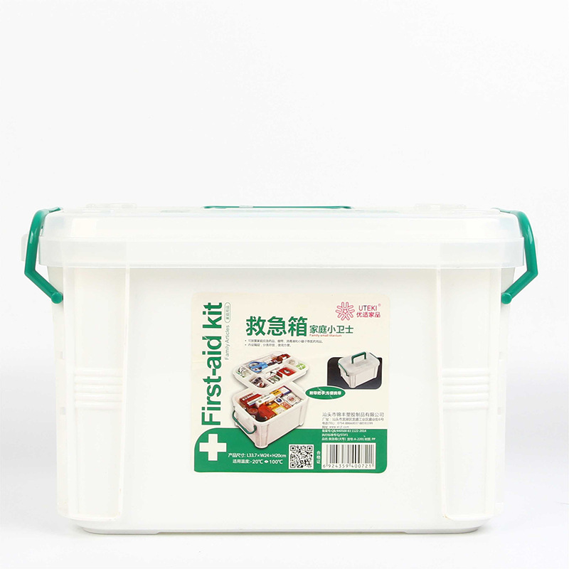 Large First Aid Box Emergency Medicine Box Family Children's Baby Small Medicine Home
