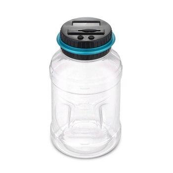 2.5L Spaarpot Teller Münze Elektronische Digitale LCD Tellen Munt Geld Saving Box Jar Munten Opbergdoos Voor EURO