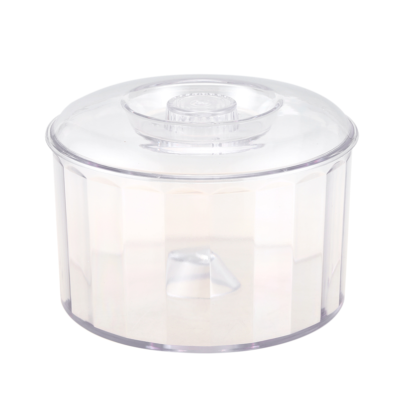 Best KT-185 Magnetic Clear Tumbler/Bucket, Barrel Polishing Bucket Drums, Jewelry Tool