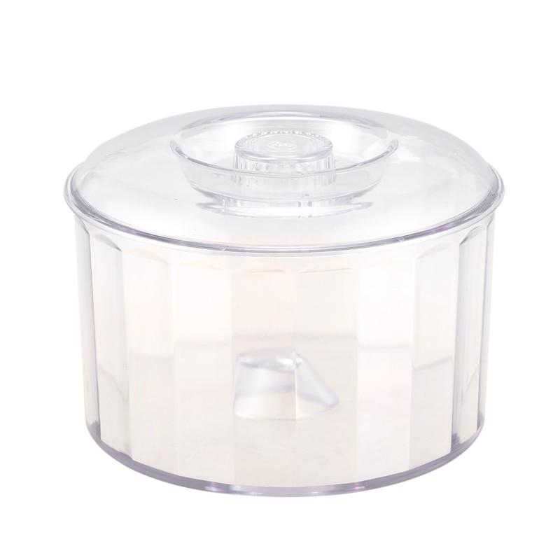 Best KT-185 Magnetic Clear Tumbler/Bucket, Barrel Polishing Bucket Drums, Jewelry Tool