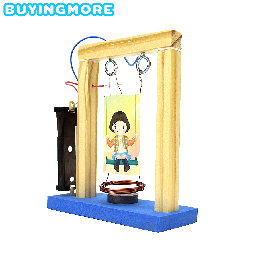 Electromagnetic Pendulum Model Kit Toys For Children Levitation Physical Science Experiment Learning Material Creative Toy Gifts