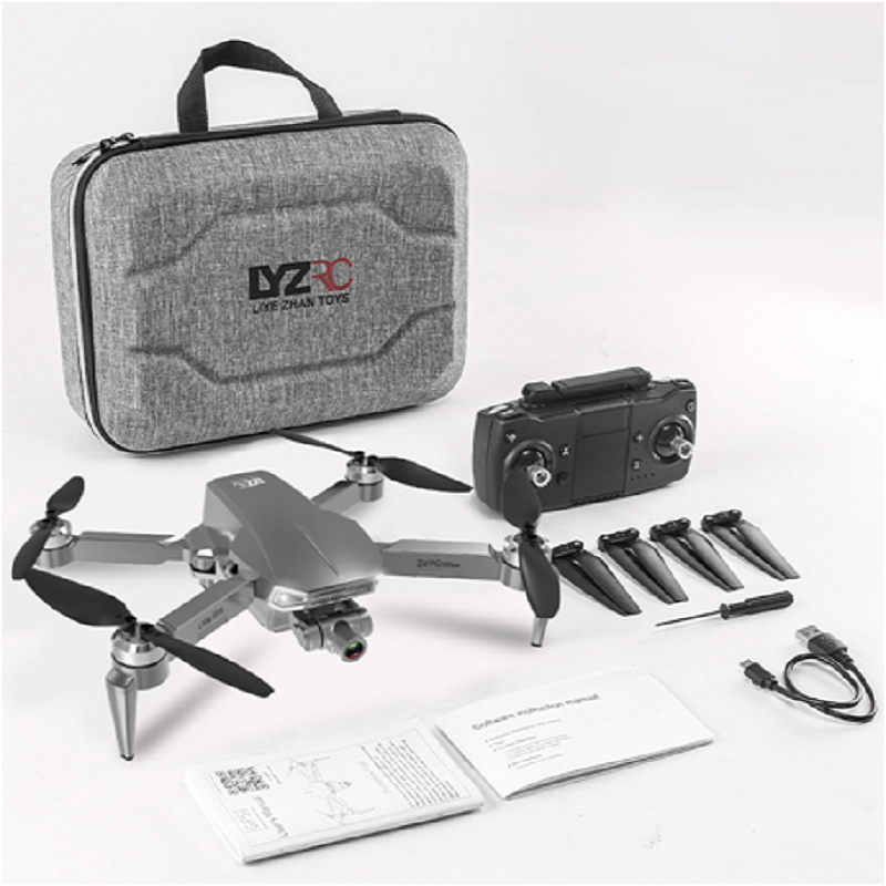 XYRC L106 Pro2 GPS Drone 4K HD Dual Camera 2-axis Gimbal Aerial Photography Brushless Foldable Quadcopter RC Distance 1200M 6